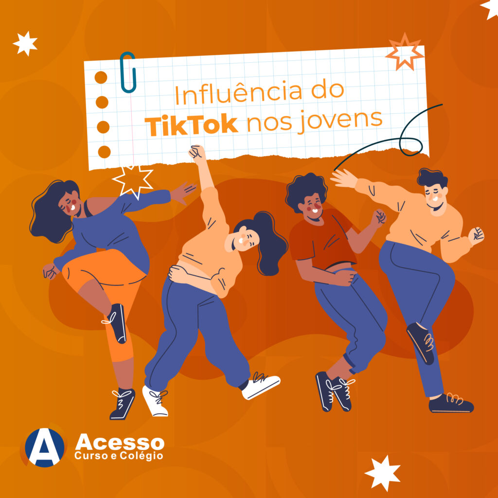 Influência do TikTok nos jovens